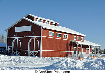 Barn for Historic Train - Pioneer Park