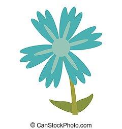 lily flower natural image vector illustration eps 10