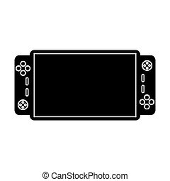 video game console portable pictogram