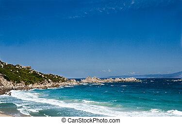 sea Saint Teresa di Gallura - a crystalline sea Saint Teresa...