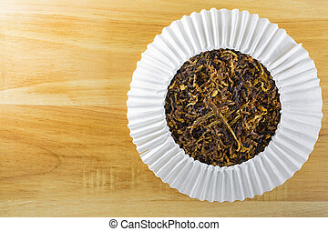 Classic blended aromatic pipe tobacco with vanilla flavor on...