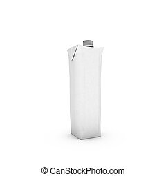 Capacity billet on white background