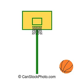 basketball backboard