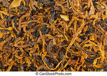 Closeup background texture of classic blended aromatic pipe...
