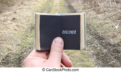 discover, travel motivation - Discover text. Travel...