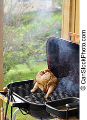 Barbecue Beer Chicken