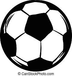 Soccer icon cartoon