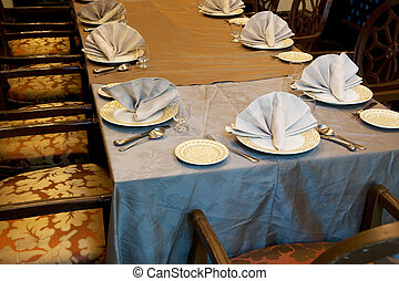 Dining Table - Image of a dining table.