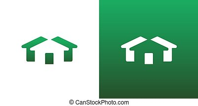 Abstract Real Estate Housing Symbol