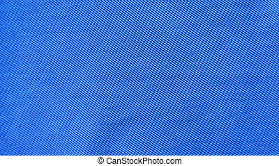 Blue Fabric Texture as Background - Fabric for clothing...