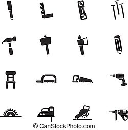 joinery icon set - joinery web icons for user interface...