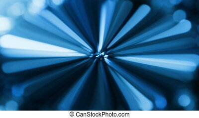 magic lights rotations - abstract background with magic...