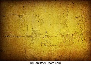 Marrom, grungy, parede, grande, texturas, seu, desenho