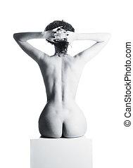 Naked beautiful woman