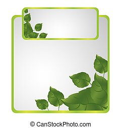 green sheath of leaves icon, vector illustraction design