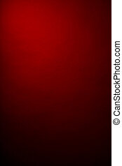 red background in the photographic studio