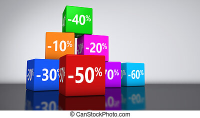 Shopping Sale Reduction Discount