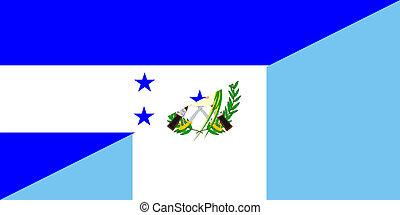 guatemala,  honduras, bandera