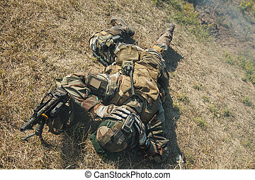 Marine Infantry Parachute Regiment - Paratrooper of french...