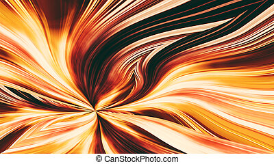fire flower - abstract fire flower - elegant background for...