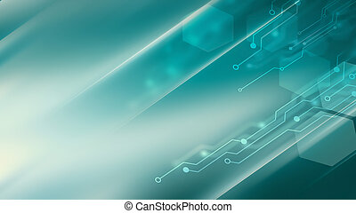 high tech background - Abstract high tech background in blue...