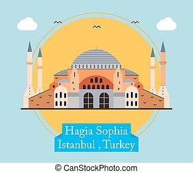 Hagia Sophia, Istanbul Turkey - Hagia Sophia is one of the...