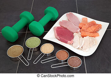 Body Building High Protein Food and Powders - Body building...