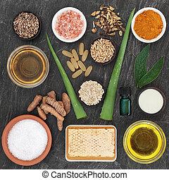 skincare, ingredientes, desórdenes, piel