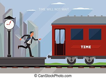 vector business illustration - conceptual business...