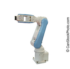 Robotic Arm isolated on white