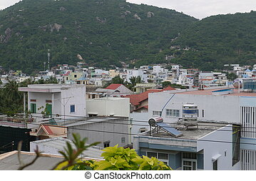 Townscape - Vietnam, townscape Nha Trang in the south of the...