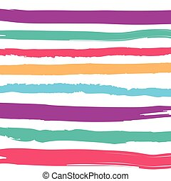 Abstract colorful stripes pattern