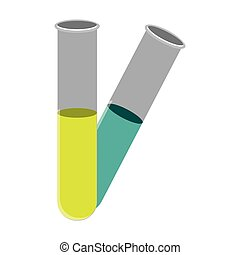 color clinical tubes icon