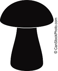 Fungus boletus icon, simple style - Fungus boletus icon....