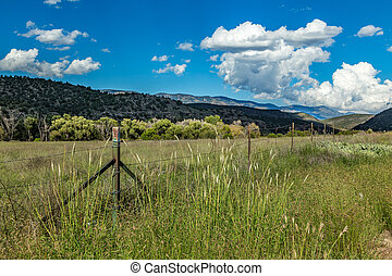 Capitan Mountains New Mexico - A view of the Capitan...