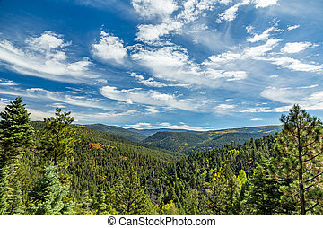Maestas Ridge on the High Road to Taos - A View of Maestas...