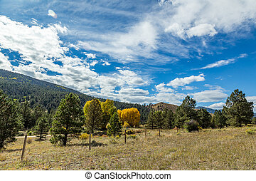 The Enchanted Circle Scenic Byway is an 84 mile New Mexico...