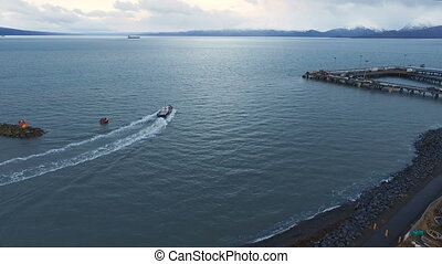 Fishing Trawler Kachemak Bay Homer Alaska Nautical Marine...