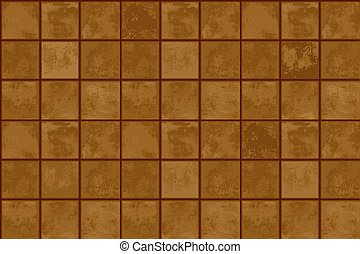 Terracotta floor tiles. seamless abstract geometric texture
