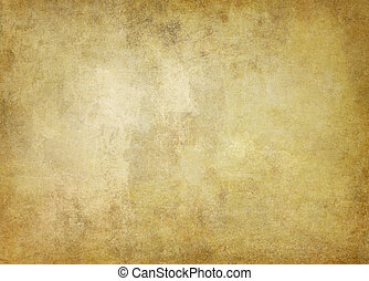 old ocher colored paper - old stained light ocher colored...