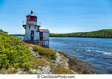 Squirrel Point Light is a lighthouse marking the...
