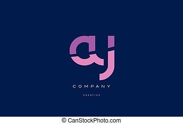 cy c y pink blue alphabet letter logo icon - cy c y pink...