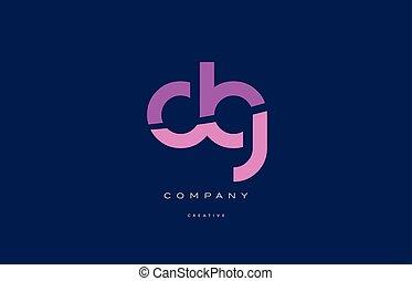 dg d g pink blue alphabet letter logo icon - dg d g pink...