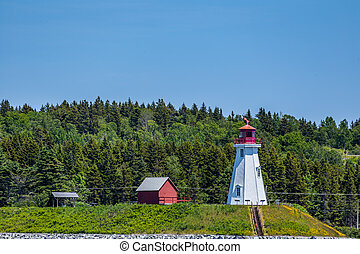 Mulholland Point Light is a lighthouse on Campobello Island...
