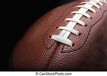 a football - football