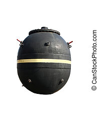 Mine - British naval mine from the second world war.