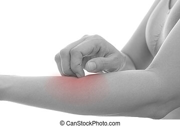 Itching in women - Itching of skin diseases in women using...