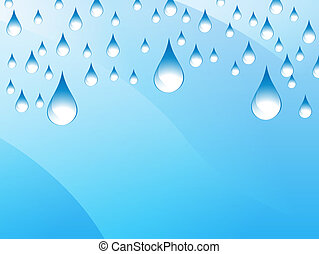Rain Presentation Background - An image of a presentation...