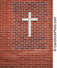 Religious cross. - Religious cross at a place of worship.