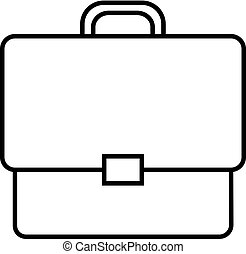 briefcase icon of vector illustration